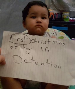 Baby spending first Xmas on Nauru detained by the Australian government
